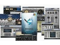 WAVES FULL PLUG-IN BUNDLE 9.6 MAC/PC
