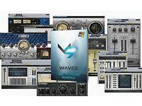 WAVES COMPLETE PLUG-IN BUNDLE 9.9 MAC/PC...