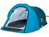 Double layered Quechua pop up tents