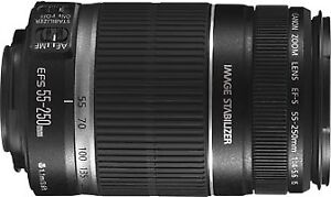 Objectif Canon EF-S 55-250mm F/4-5.6