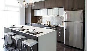 Mississauga's Condo Experts! High Gloss Modern Condo Kitchens Better than IKEA! Call or Email for Free Consultation.