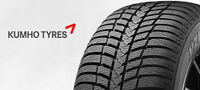 SMART CAR WINTER TIRES CONTINENTAL TS800 & KUMHO KW23