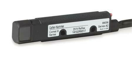 EATON 14102RQD07 Photoelectric Sensor,Cylinder,Reflective