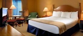 Housekeeping staff, Pacific Inn London Heathrow Hotel. Southall, London