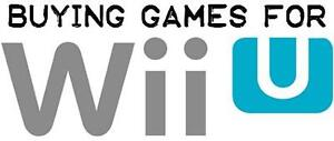 Wanted: Buying Your Games for WiiU
