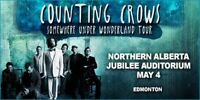 Counting Crows Hardcopy Main Floor Tickets - Row C and G