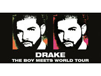 3x Drake Boy Meets World Tour Tickets @ The O2, London. 15th Feb SEATED