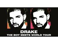3x Drake Boy Meets World Tour Tickets @ The O2, London. 15th Feb SEATED