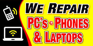 Low cost repair Computer, Laptop, ipad, Tablets, Cell phones