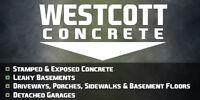 Westcott Concrete ****FREE PERSONAL ESTIMATES****