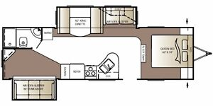 2010 300 BH Outback Travel Trailer - Great Floor Plan!