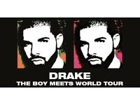 Drake ticket, (THE BOY MEETS WORLD TOUR) SEATED!