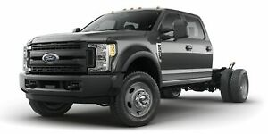 """2018 Ford F550 4x4 - Chassis Crew Cab XL - 179"""" WB"""