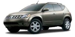FOR PARTS 2004 Nissan Murano SUV, Crossover