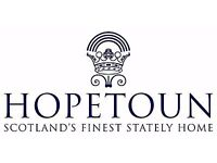 Occasional Hospitality and Events Assistants, Hopetoun House, South Queensferry