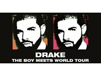 Drake - Boy Meets World Tour - 23rd March - SSE Hydro Glasgow - 2 x Standing