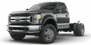 """2018 Ford F550 4x4 - Chassis Regular Cab XL - 169"""" WB"""