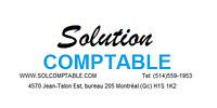 Comptable, Impôt et Taxes (TPS / TVQ)