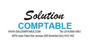 Comptable, Impôt et Taxe (TPS / TVQ)