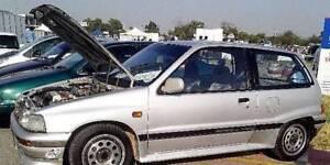 1989 Daihatsu Charade GTti (JDM Import - Aust Complied) - UNREG