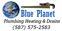 Blue Planet Plumbing & Heating.  Hot water tank services