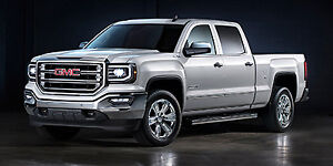2018 GMC K1500 SIERRA CREW CAB TK15743 BASE STD/BOX (1SA)
