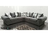 Sofas and co ,Belmont corner Sofa in grey