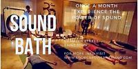 Monthly Group Sound Bath