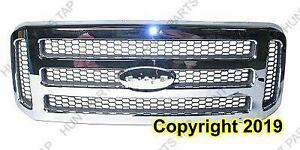 Grille All Chrome Super Duty  Ford F150 2005-2007