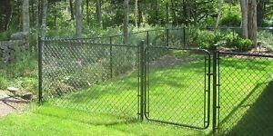 Looking for left over chain link fence, approx 40-50 ft.