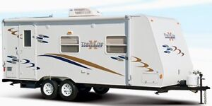 AWESOME CONDITION! 21 ft Trail-LITE Crossover Trailer