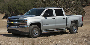 2018 CHEVROLET K1500 SILVERADO CREW CAB CUSTOM STD/BOX (1CX)