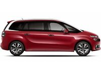 PCO CAR HIRE RENT UBER READY 7 SEATER CITROEN C4 GRAND PICASSO 17 PLATE £160 PW