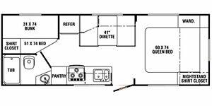 26 foot Queen Bunkhouse