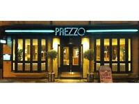 Waiting staff at Prezzo Cambridge