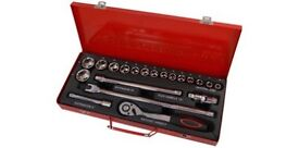 Socket and Bit Set - 20pc 1/2in.Dr