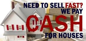 WE BUY PROPERTIES! GET CASH FOR YOUR HOME TODAY!