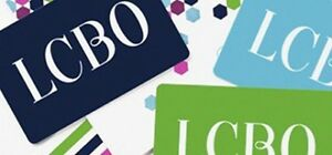 SELLING LCBO GIFT CARDS WORTH 800 for 680 CONTACT :6479063636