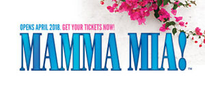 WANTED: Mama Mia tickets!! Looking for FOUR!