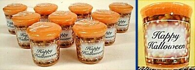 NEW 9 Yankee Candle Trick or Treat SCENT Votives W Halloween Labels RARE RETIRED