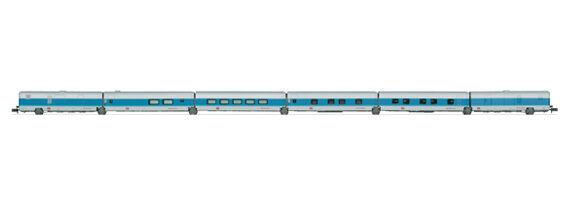 Trix 15550 Hotelwagen Bauart Talgo der Deutschen Bahn AG