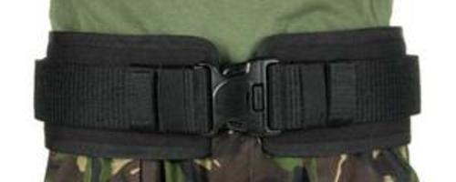 "BlackHawk 41BP00BK Black Belt Pad IVS Fits Belts Up To 2.25"" - Sz Sm 28""-34"""