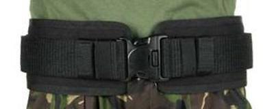 "Blackhawk 41BP02BK Black Belt Pad For Duty Belt With IVS Medium 36"" - 40"" Waist"