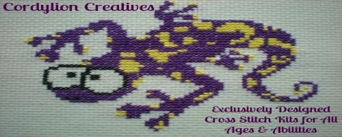Cordylion Cross Stitch