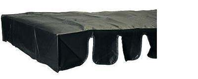 Foosball / Soccer Table Universal Dust Cover, Black Vinyl