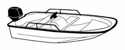 Boston Whaler Boat Cover - 7oz BOAT COVER BOSTON WHALER 13 STANDARD SIDE RAILS W/ CONS1997