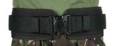 Blackhawk 41bp00bk Black Belt Pad Ivs Fits Belts Up To 2.25 - Sz Sm 28-34