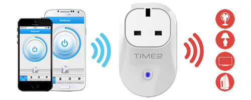 Smart Switch Plug Sockets controlled from your iPhone or Android phone.