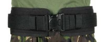"BlackHawk 41BP02BK Black Belt Pad For Duty Belt w/IVS Medium 36"" - 40"" Waist"