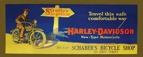 Vintage style  Vinyl   Banner  1920